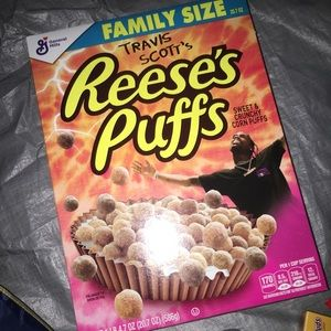 Travis Scott's Reeses Puffs Family Size